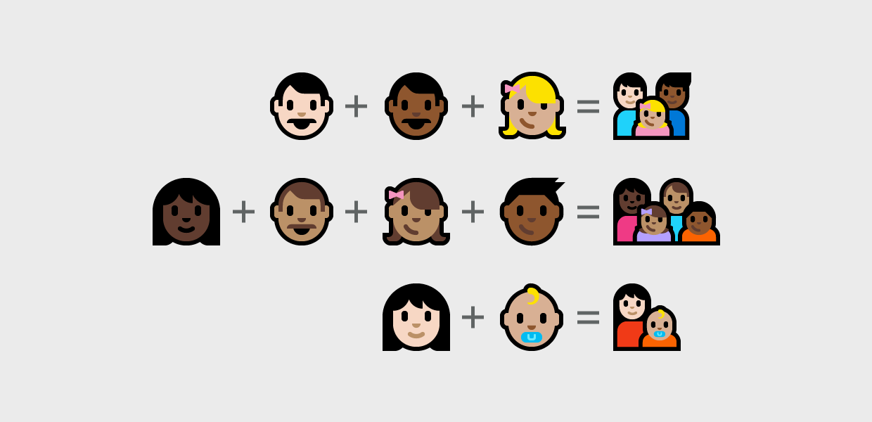 microsoft emojis always with honor graphic design and illustration
